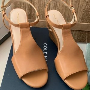 Cole Haan wedges size 9. NEW!